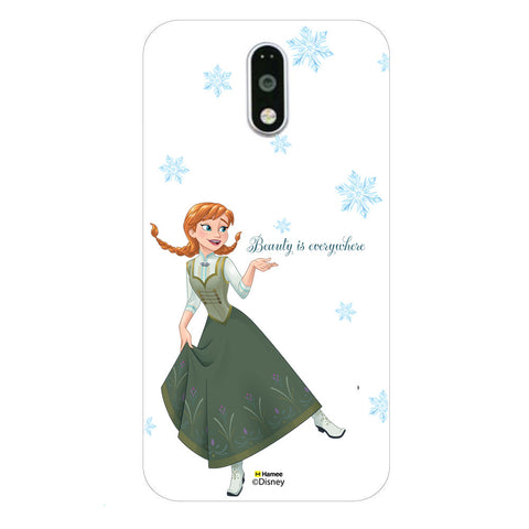 Disney Princess Frozen (Anna / Beauty) Moto G4 Plus
