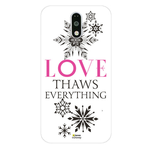 Disney Princess Frozen (Love Thaws Everything) Moto G4 Plus