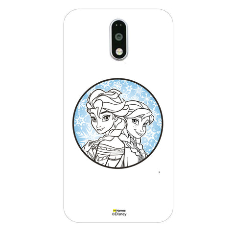 Disney Princess Frozen (Elsa Anna / Circle) Moto G4 Plus