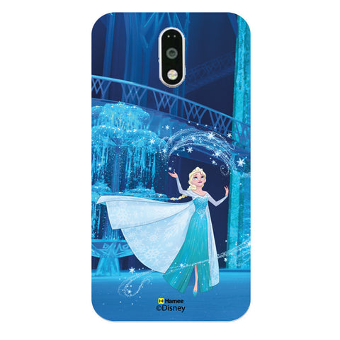 Disney Princess Frozen (Elsa / Spell) Moto G4 Plus