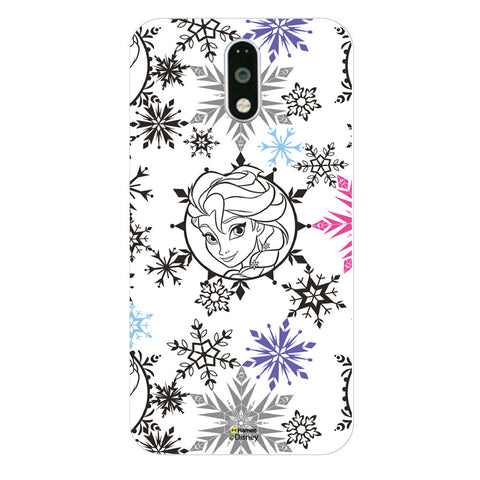 Disney Princess Frozen (Elsa / Colourful Flakes) Moto G4 Plus
