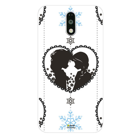 Disney Princess Frozen (Anna Elsa / Hanging Heart) Moto G4 Plus