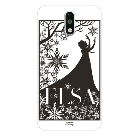 Disney Princess Frozen (Elsa / Silhouette) Moto G4 Plus