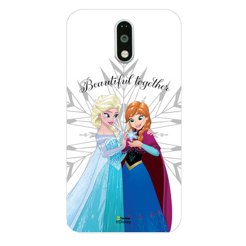 Disney Princess Frozen (Elsa Anna / Beautiful) Moto G4 Plus