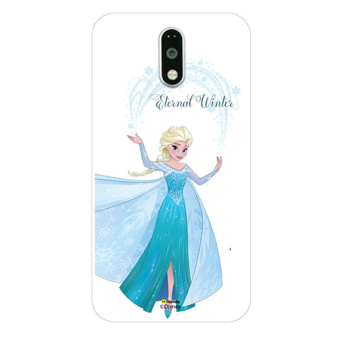 Disney Princess Frozen (Elsa / Eternal Winter) Moto G4 Plus