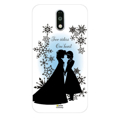 Disney Princess Frozen (Elsa Anna / Two Sisters) Moto G4 Plus