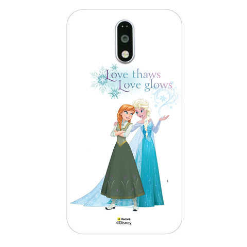 Disney Princess Frozen (Elsa Anna / Love Thaws) Moto G4 Plus