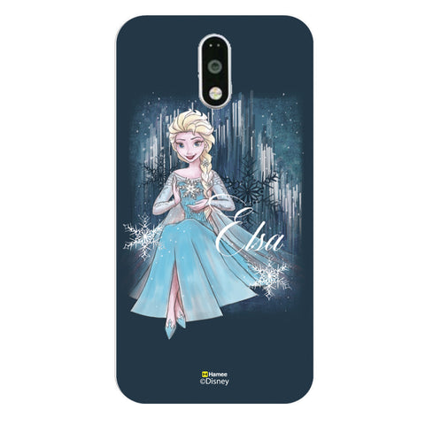Disney Princess Frozen (Elsa / Blue) Moto G4 Plus