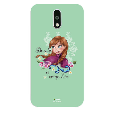Disney Princess Frozen (Anna / Green Beauty) Moto G4 Plus