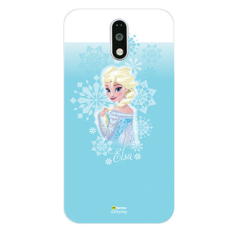 Disney Princess Frozen (Elsa / Light Blue 2) Moto G4 Plus
