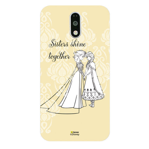 Disney Princess Frozen (Elsa Anna / Sisters Shine) Moto G4 Plus