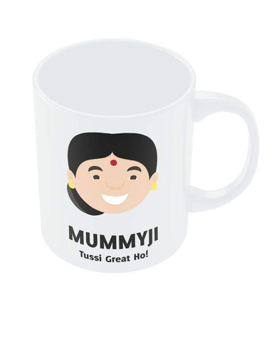 PosterGuy Mother's Day Gifts Birthday Anniversary Gifts for Mom Mummyji - Punjabi Maa from Son Daughter Coffee Mug