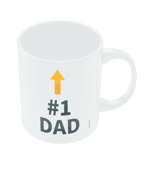 Happy Fathers Day Number 1 Dad Mug