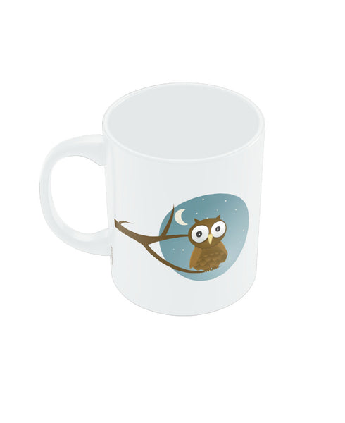 PosterGuy Night Owl Graphic Design Coffee Mug