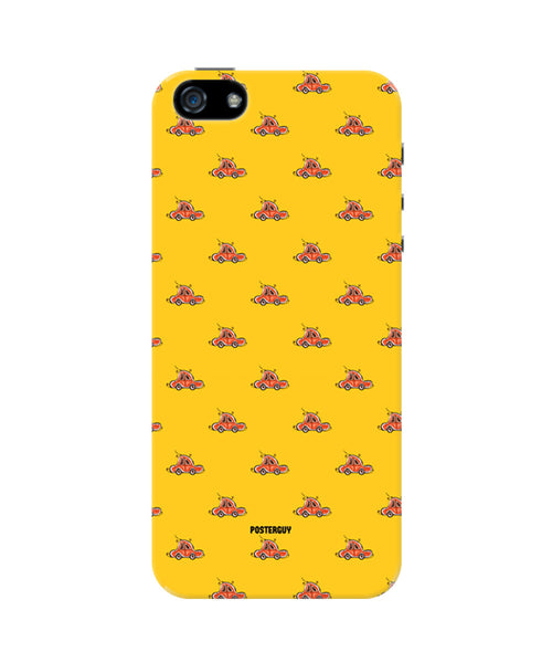 Red Car Pattern iPhone 5/5S Case