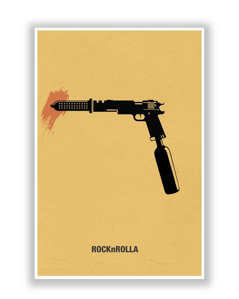 Buy Movie Posters Online | RocknRolla Inspired | PosterGuy.in