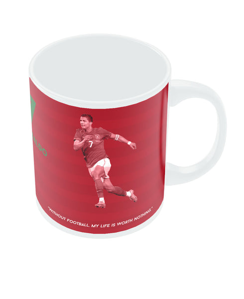 PosterGuy Christiano Ronaldo Portugal Football FIFA World Cup 2014 Ceramic Mug