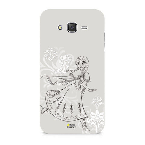 Disney Princess Frozen (Anna / Sketch) Samsung Galaxy J5