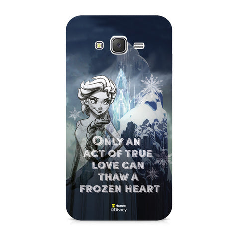 Disney Princess Frozen (Elsa / Only) Samsung Galaxy J5