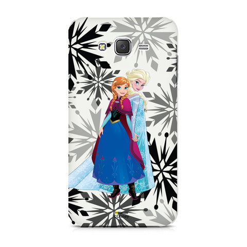 Disney Princess Frozen (Anna Elda / Snowflakes) Samsung Galaxy On7