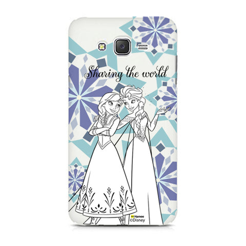 Disney Princess Frozen (Elsa Anna / Sharing) Samsung Galaxy J5