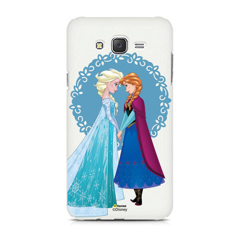 Disney Princess Frozen (Elsa Anna / Blue) Samsung Galaxy J5