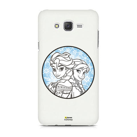 Disney Princess Frozen (Elsa Anna / Circle) Samsung Galaxy J5