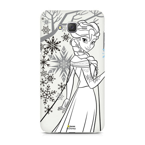 Disney Princess Frozen (Elsa / Outline) Samsung Galaxy J5