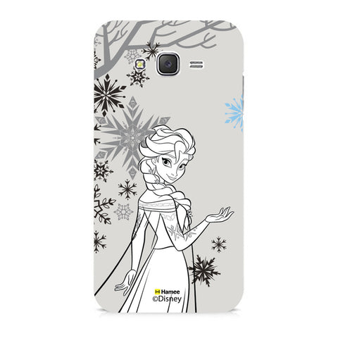 Disney Princess Frozen (Elsa / Gray) Samsung Galaxy J5