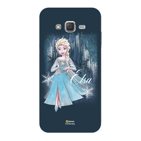 Disney Princess Frozen (Elsa / Blue) Samsung Galaxy J5