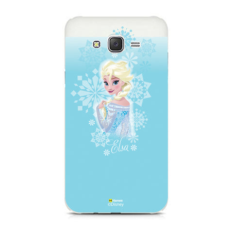 Disney Princess Frozen (Elsa / Light Blue 2) Samsung Galaxy J5