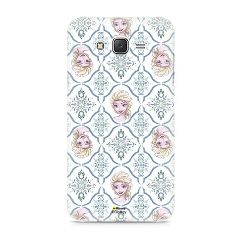 Disney Princess Frozen (Elsa / Faces) Samsung Galaxy J5