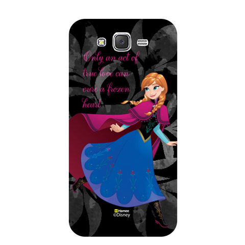 Disney Princess Frozen (Anna / Black) Samsung Galaxy J5