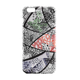 iPhone 6 Case & iPhone 6S Case | Flower Line Art Doodle Black iPhone 6 | iPhone 6S Case by Stuti Online India | PosterGuy
