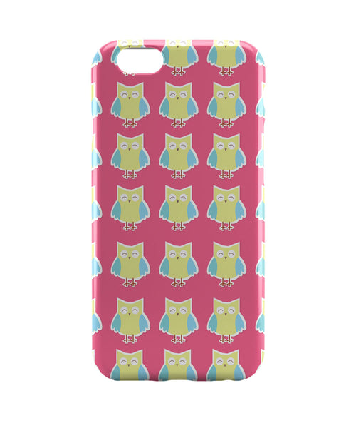 iPhone 6 Case & iPhone 6S Case | Cute Owl Pink and Yellow iPhone 6 | iPhone 6S Case by Tanvi Online India | PosterGuy
