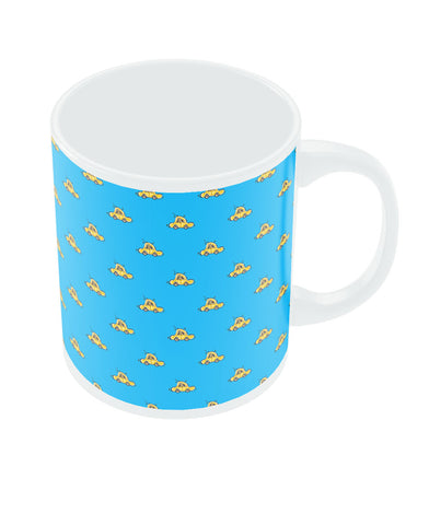 Beetle Car Yellow Mug