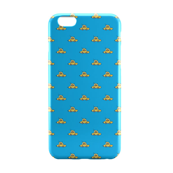 iPhone 6 Case & iPhone 6S Case | Yellow Car Pattern iPhone 6 | iPhone 6S Case Online India | PosterGuy