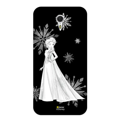 Disney Princess Frozen (Elsa / Black White) Meizu M3 Note