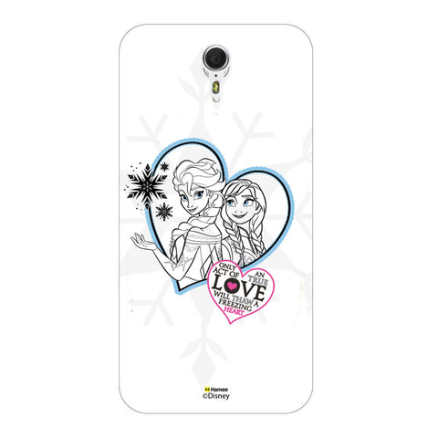 Disney Princess Frozen (Elsa Anna / Hearts) Meizu M3 Note