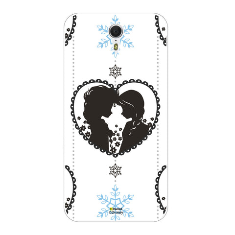 Disney Princess Frozen (Anna Elsa / Hanging Heart) Meizu M3 Note
