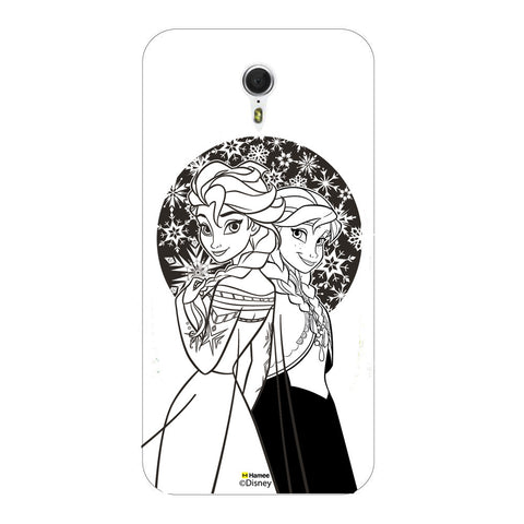 Disney Princess Frozen (Elsa Anna / Black White) Meizu M3 Note