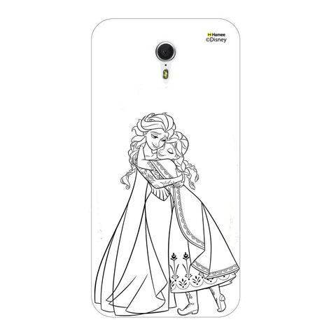 Disney Princess Frozen (Anna Elsa / Outline) Meizu M3 Note