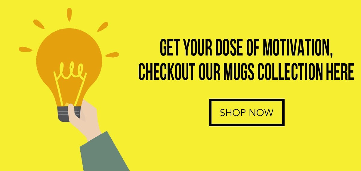 buy mugs and motivational mugs online in India at posterguy