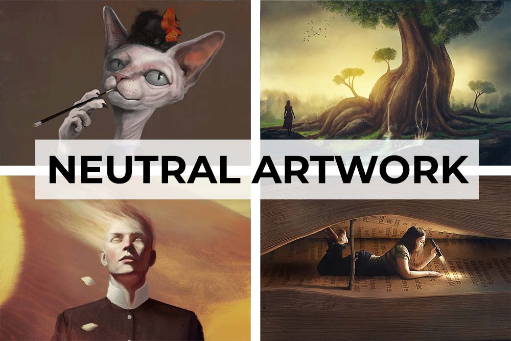 Neutral artwork collection. Canvas wall art category.