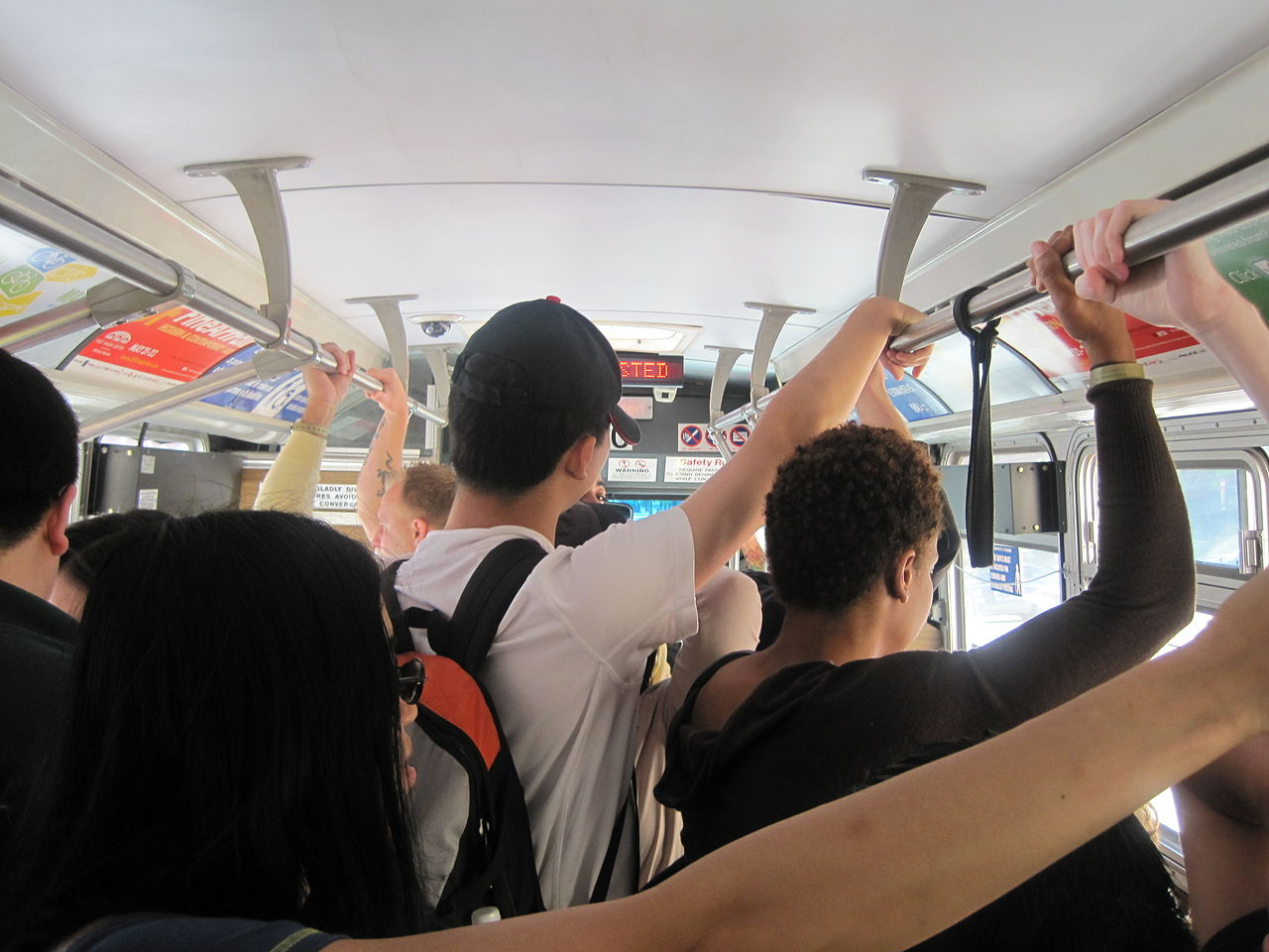 """The """"crowded bus effect"""": Interior design mistake."""