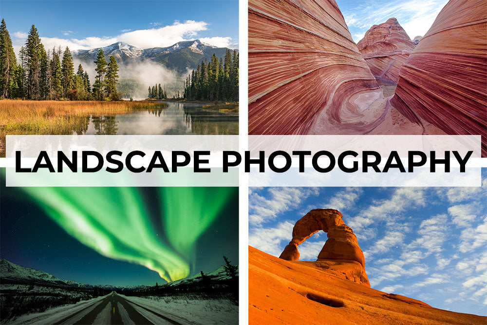 Landscape photography artwork collection. Canvas wall art category.
