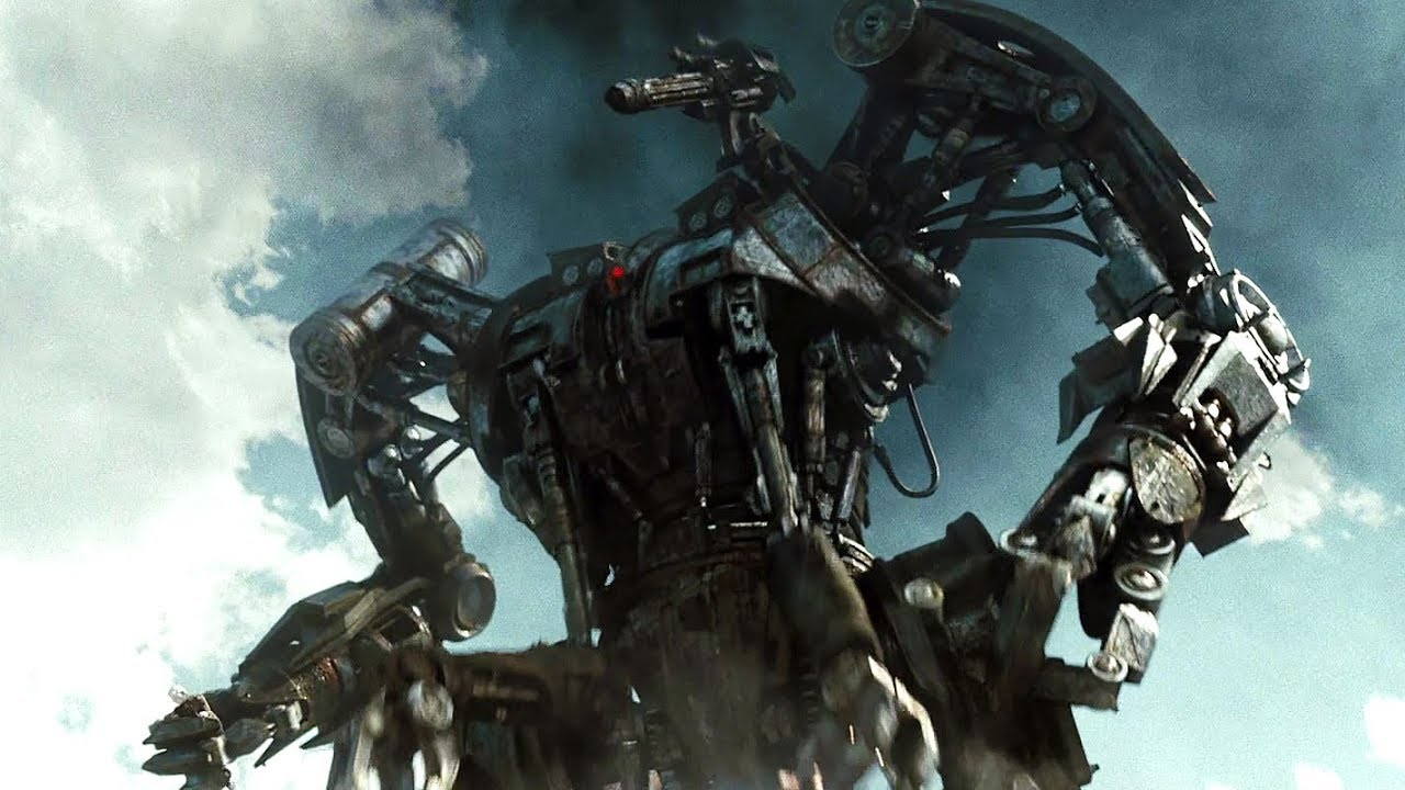 Giant killer Harvester robot, from Terminator: Salvation movie