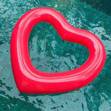 Hot Inflatable Heart Swimming Ring