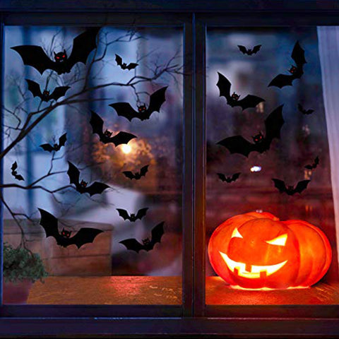 Halloween Decoration Horror House Hanging Bats