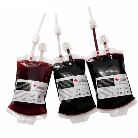 Vampire Blood Bag for Halloween Party Decoration Supplies